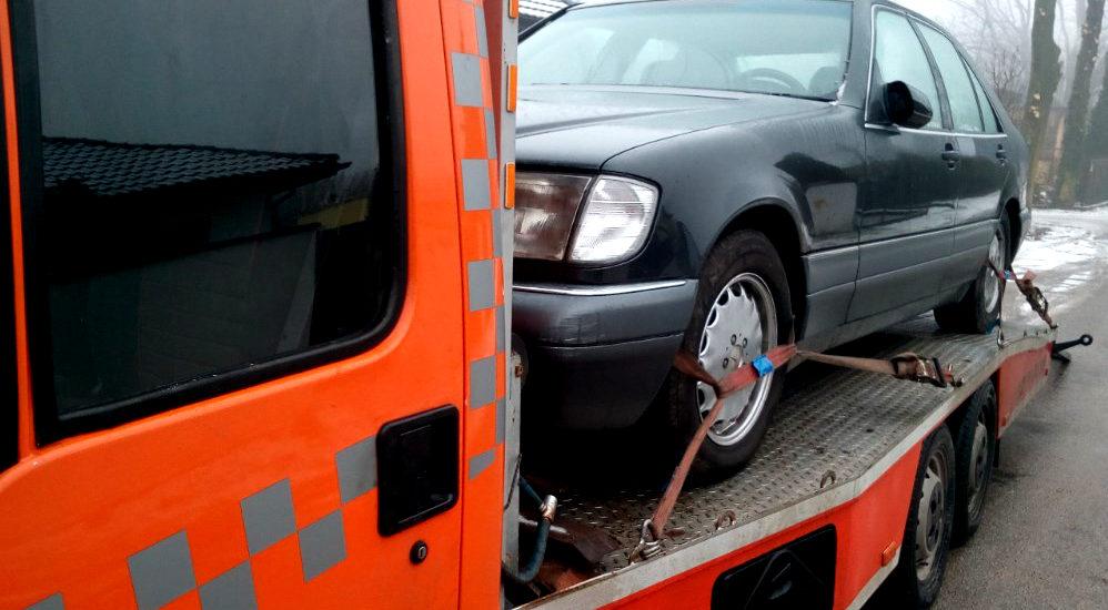 Odholowanie samochodu na koszt właściciela - art. 130a